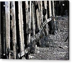 Maine Pier Acrylic Print