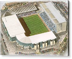 Maine Road - Manchester City Acrylic Print by Kevin Fletcher