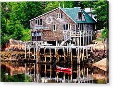 Maine Scene Acrylic Print