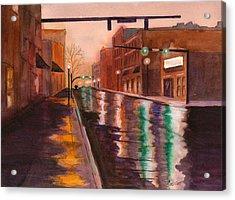 Mainstreet Acrylic Print