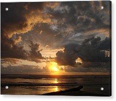 Majestic Sunset Acrylic Print by Athena Mckinzie