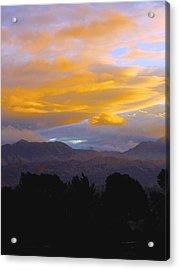 Majestic Earth And Sky Acrylic Print