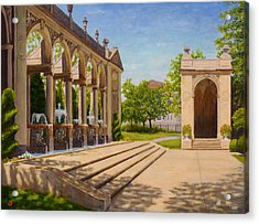 Acrylic Print featuring the painting Majestic Entrance by Joe Bergholm