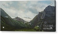 Majestic Glacier Park Acrylic Print