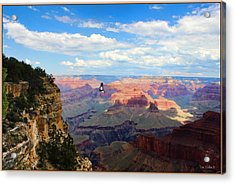 Majestic Grand Canyon Acrylic Print by Tom Schmidt