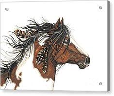Majestic Horse Series 32 Acrylic Print by AmyLyn Bihrle