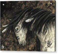 Majestic Dapple Horse Acrylic Print by AmyLyn Bihrle