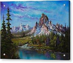 Majestic Morning Acrylic Print by C Steele