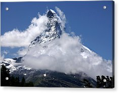 Acrylic Print featuring the photograph Majestic Mountain  by Annie Snel