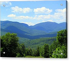 Majestic Mountains Acrylic Print