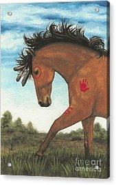 Majestic Mustang 36 Acrylic Print by AmyLyn Bihrle