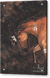 Majestic Mustang Series 40 Acrylic Print by AmyLyn Bihrle