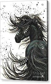 Majestic Spirit Horse 65 Acrylic Print by AmyLyn Bihrle