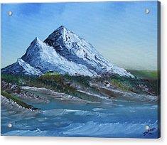 Majestic Peaks Acrylic Print