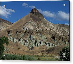 Majestic Rimrock Acrylic Print by Chalet Roome-Rigdon