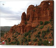 Majestic Rock Art In God's Country  Acrylic Print