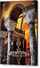 Majestic Sophia Acrylic Print by John Rizzuto
