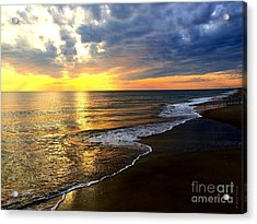 Majestic Sunset Acrylic Print by Shelia Kempf
