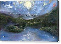 Majestik Twilight Acrylic Print by Jerod  Kytah