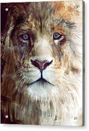 Majesty Acrylic Print by Amy Hamilton