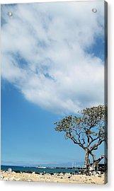 Makalawena Beach Acrylic Print