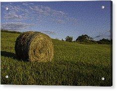 Make Hay Acrylic Print