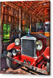 Maker's Mark Firehouse 2 Acrylic Print by Mel Steinhauer