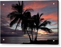 Mala Sunset Acrylic Print by James Roemmling