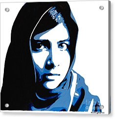 Malala Yousafzai On Friday Acrylic Print