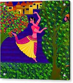 Malavika's Magical Touch Acrylic Print