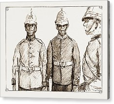 Malay Armed Police Straits Settlements Contingent Acrylic Print