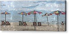 Malazy Day At The Beach Acrylic Print
