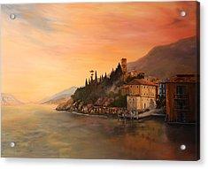 Malcesine Lake Garda Italy Acrylic Print