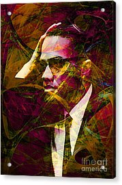 Malcolm X 20140105 Acrylic Print by Wingsdomain Art and Photography