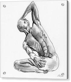 Male Nude 4 Acrylic Print