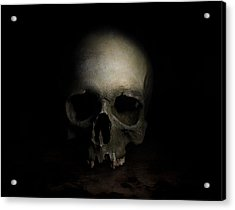 Male Skull Acrylic Print