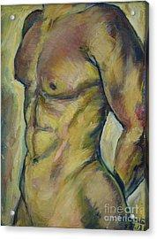 Nude Male Torso Acrylic Print