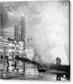 Maleca?n Acrylic Print by Thomas Siegel