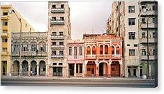 Malecon In Havana Acrylic Print