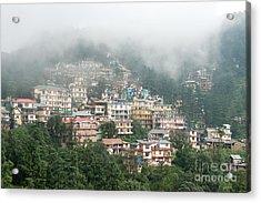 Maleod Ganj Of Dharamsala Acrylic Print