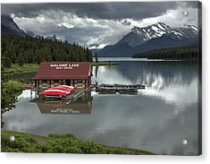 Maligne Lake Jasper Park Acrylic Print