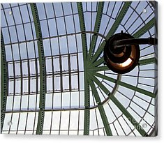 Acrylic Print featuring the photograph Mall Of Emirates Skylight by Andrea Anderegg