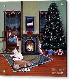 Mallory Christmas Acrylic Print