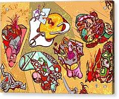 Malpractice Acrylic Print by Doug Petersen