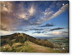 Malvern Hills Acrylic Print by Rod McLean