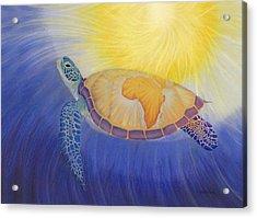 Mama Africa Turtle Acrylic Print