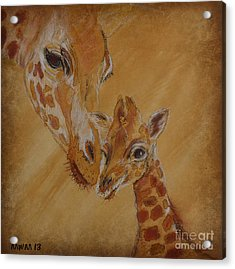 Mama Watches Acrylic Print