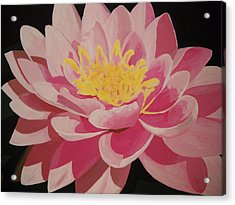 Mama's Lovely Lotus Acrylic Print