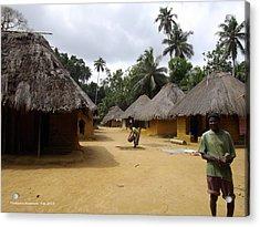 Mamboima Village Acrylic Print