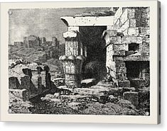 Mamisi, Or Place Of Birth Of Dendera Acrylic Print by Litz Collection